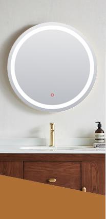 迪伸卫浴,专业生产铝合金浴室镜柜,铝合金镜柜,LED浴室镜柜,铝合金镜柜生产厂家