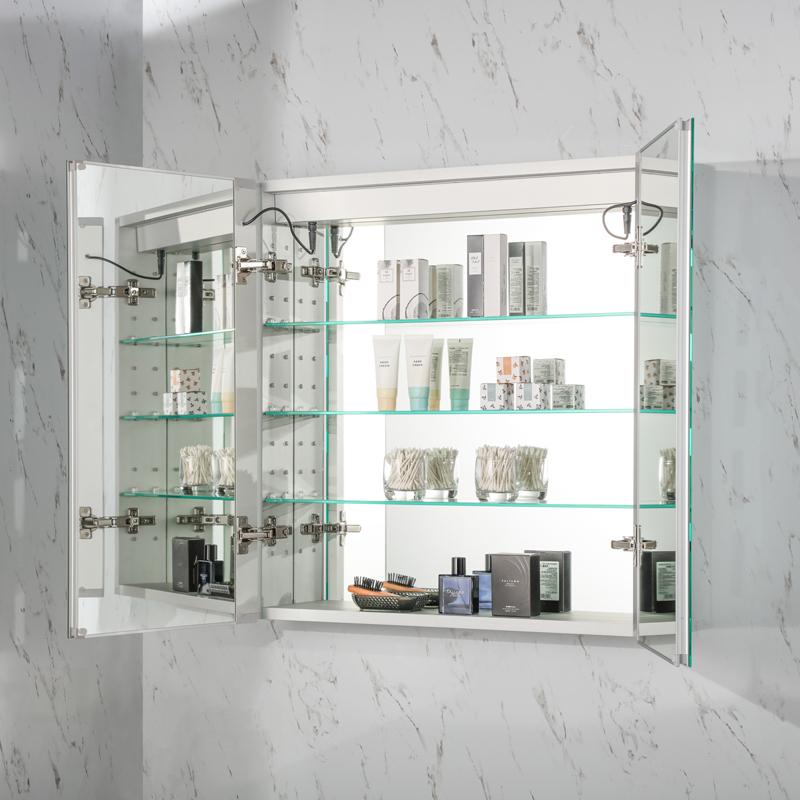 如何选购质量好的浴室镜和镜子