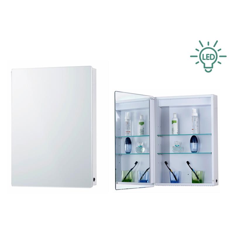LED浴室镜柜浅谈怎样才能预防铝合金镜柜生锈
