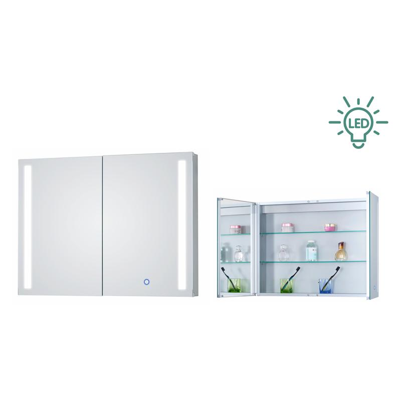 LED灯镜详解如何购买质量好的浴室镜柜
