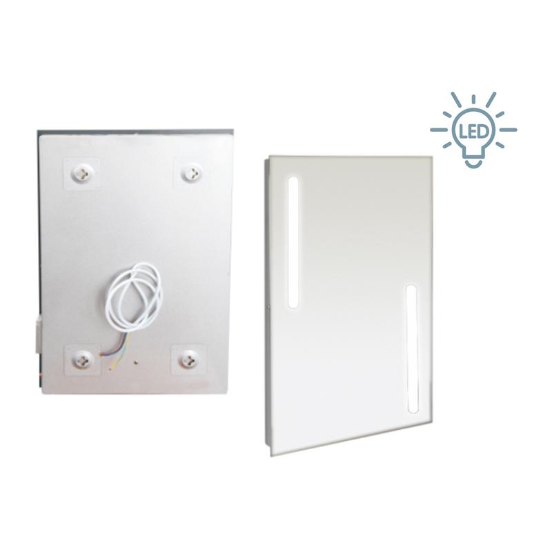 LED浴室镜柜卫生间这么装修,硬核中产不承认降级