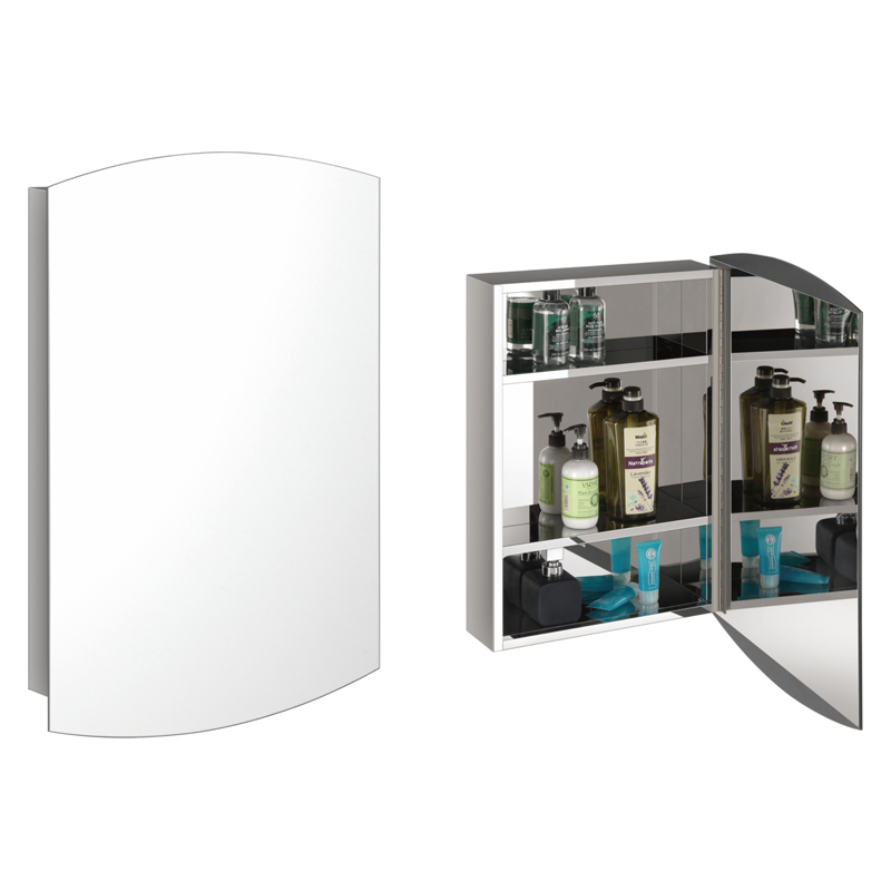 LED灯镜浴室镜柜哪种才既实用又安全?