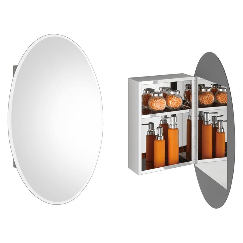 揭秘浴室镜柜造型风格功能多种多样
